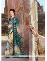 Majestic Fancy Fabric Multi Colour Digital Print Work Printed Saree
