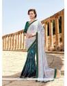 Modern Multi Colour Fancy Fabric Printed Saree