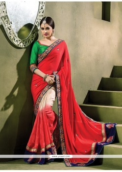 Suave Embroidered Work Classic Saree