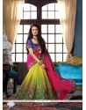 Nice Net Embroidered Work Designer Traditional Sarees