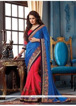Paramount Patch Border Work Classic Saree