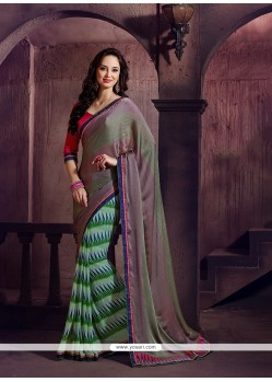 Honourable Printed Saree For Festival