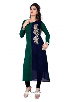 Gorgonize Georgette Embroidered Work Designer Kurti