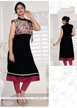 Observable Print Work Casual Kurti