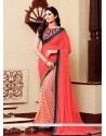 Trendy Multi Colour Printed Saree