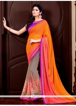 Tiptop Georgette Designer Saree