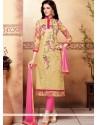 Especial Resham Work Churidar Designer Suit
