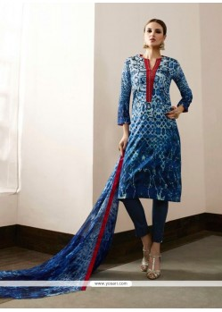 Exceptional Cotton Satin Pant Style Suit