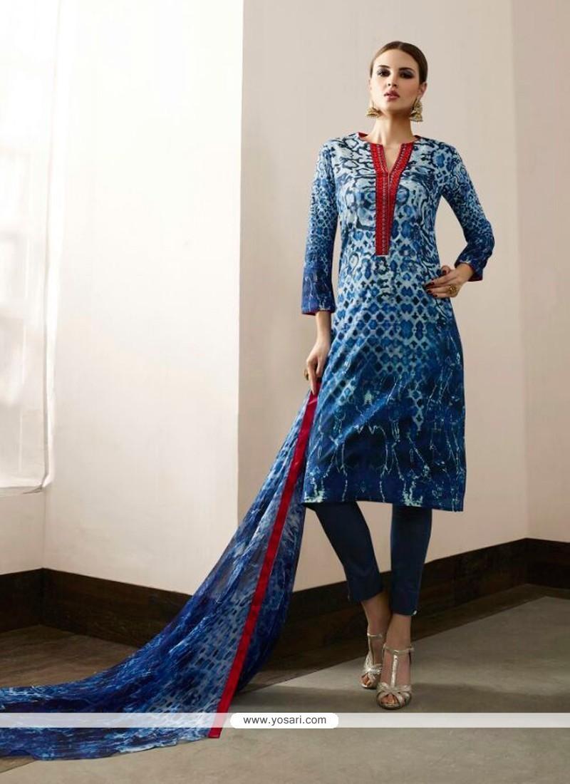 Exceptional Cotton Satin Pant Style Suit