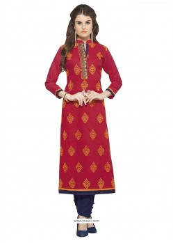 Fascinating Bengal Cotton Designer Kurti