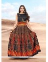 Delectable Banglori Silk Floor Length Gown