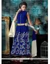 Mesmeric Patch Border Work Designer Salwar Suit