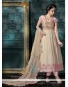 Rose Pink Georgette Anarkali Salwar Kameez