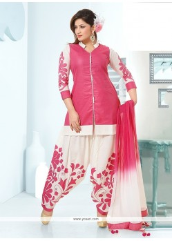 Observable Pink Readymade Suit