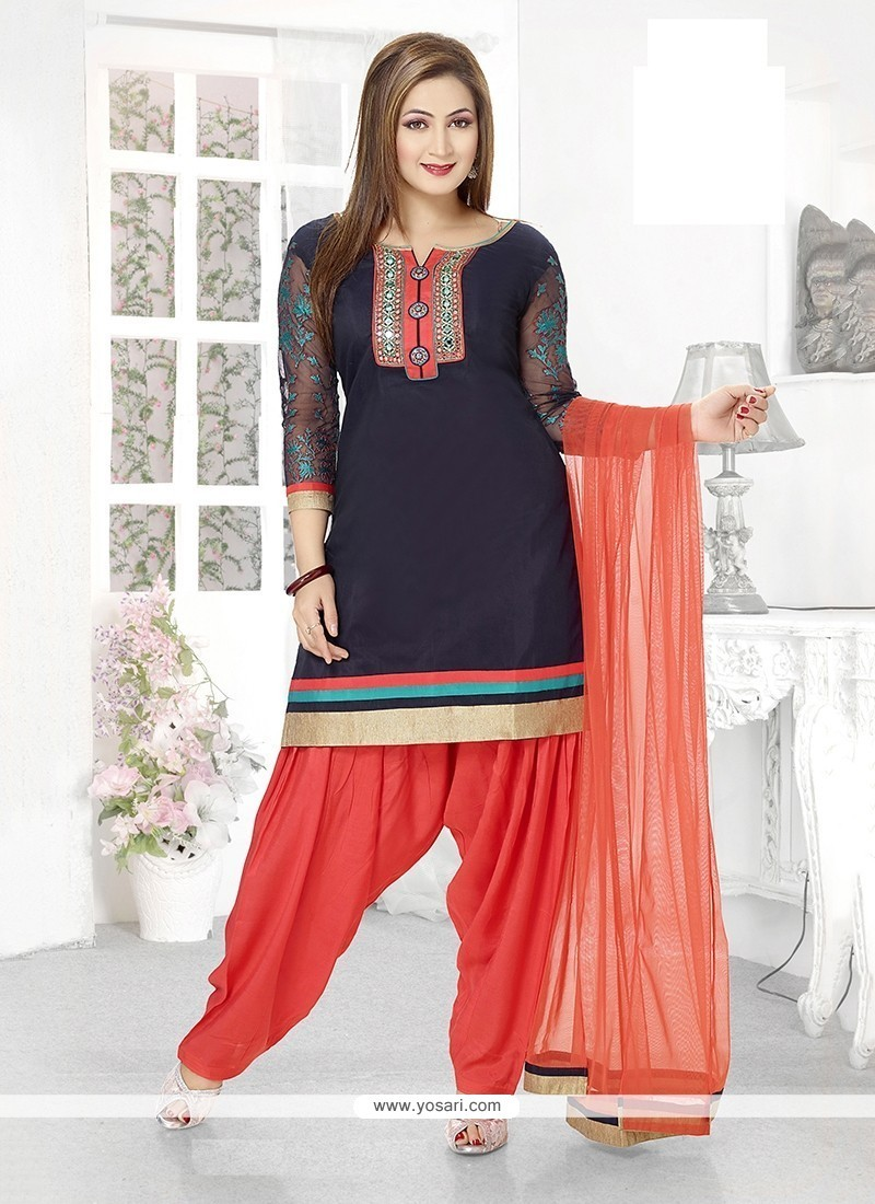 Dazzling Embroidered Work Readymade Suit
