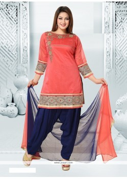 Prepossessing Embroidered Work Readymade Suit