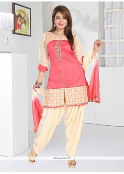 Majestic Chanderi Readymade Suit