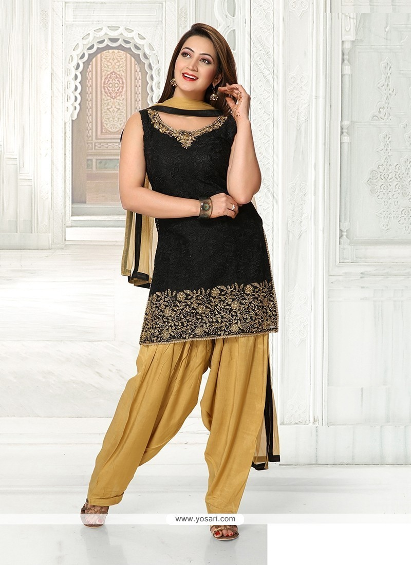 Modish Embroidered Work Readymade Suit