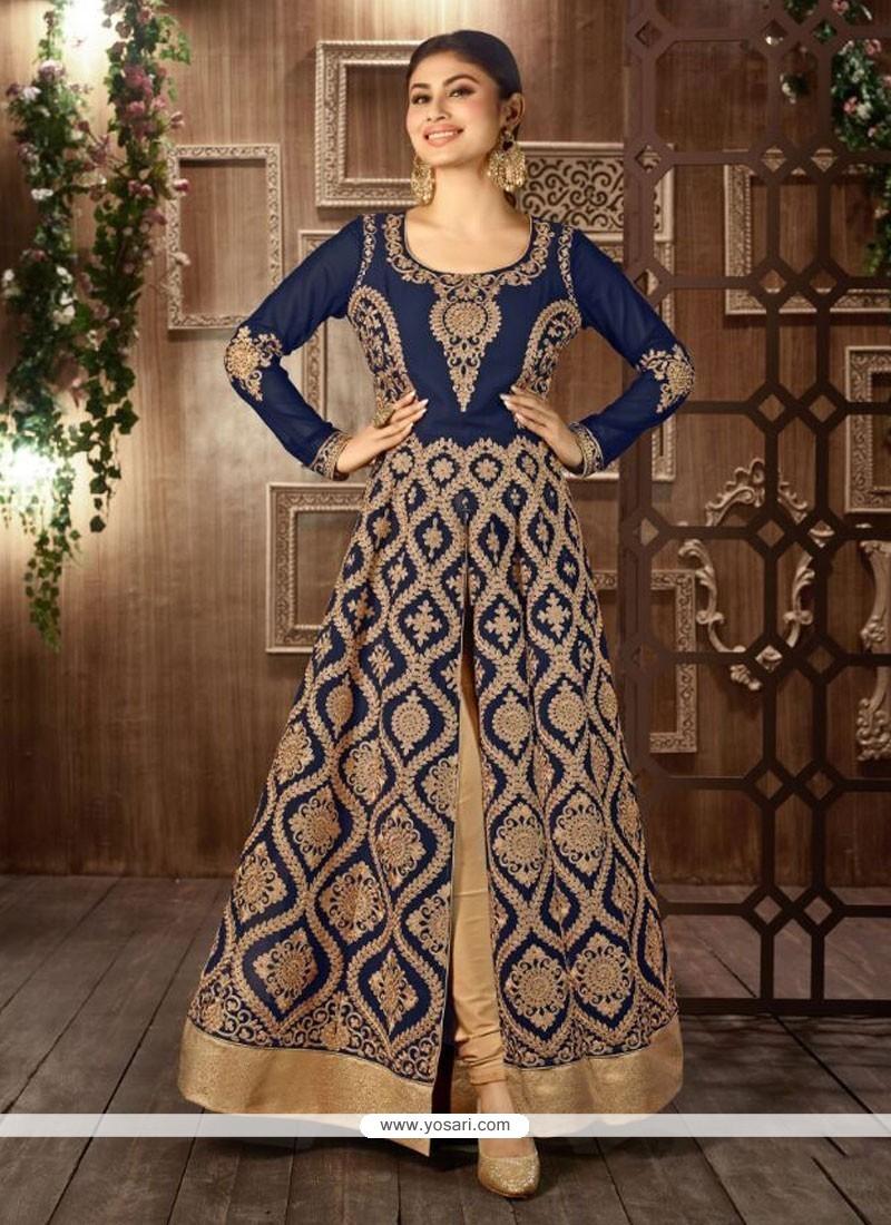 Enticing Resham Work Designer Salwar Suit