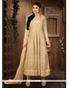 Paramount Resham Work Georgette Anarkali Salwar Kameez