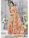 Best Georgette Printed Saree