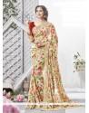 Innovative Georgette Multi Colour Printed Saree