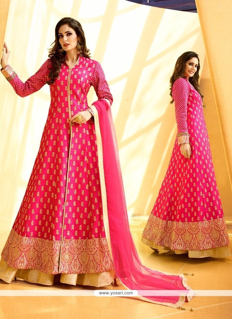 Piquant Hot Pink Designer Lehenga Choli