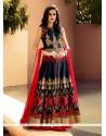 Nice Art Silk Designer Lehenga Choli