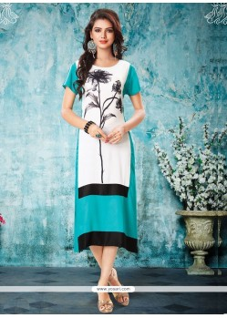 Epitome Off White Party Wear Kurti
