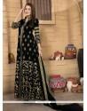 Fine Resham Work Banglori Silk Designer Salwar Kameez