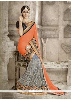 Sophisticated Georgette Designer Saree