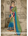 Fetching Multi Colour Designer Saree
