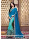 Affectionate Chiffon Satin Designer Saree