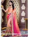 Riveting Patch Border Work Designer Traditional Sarees