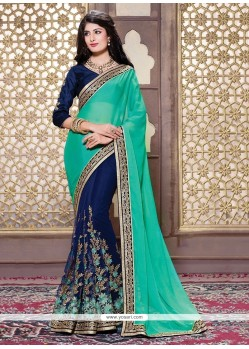 Intriguing Net Designer Saree