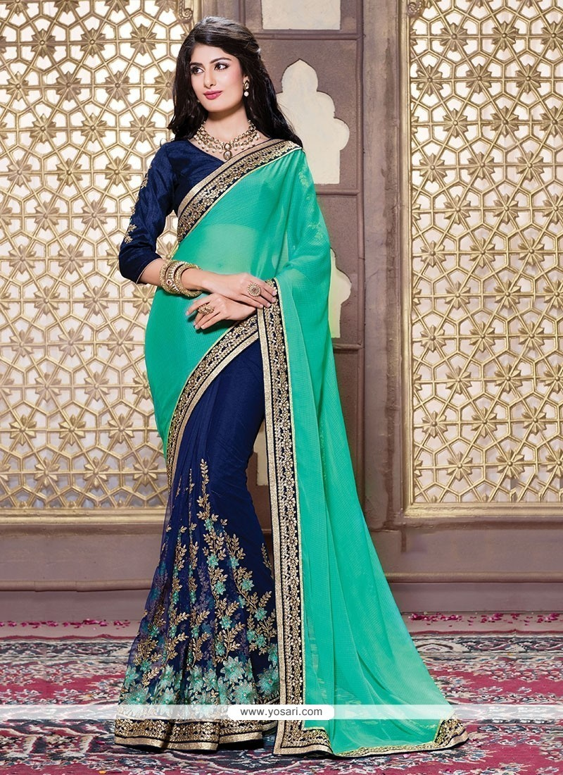 Buy Intriguing Net Designer Saree Wedding Sarees