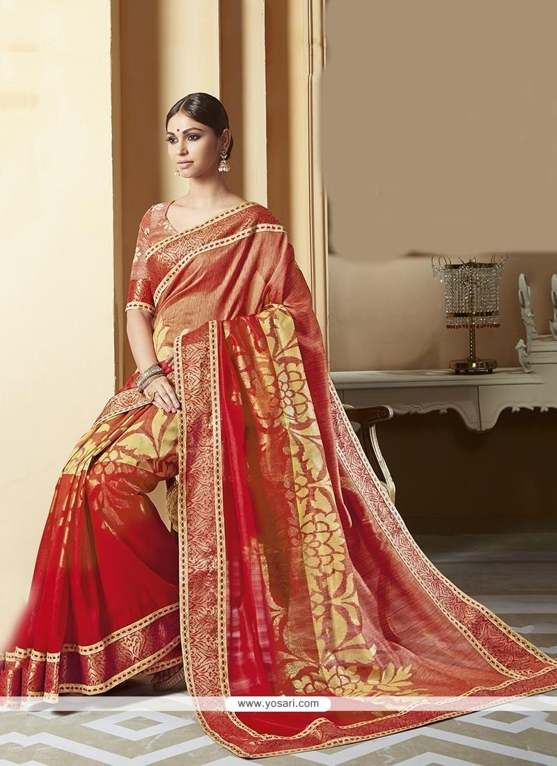 Sterling Silk Multi Colour Printed Saree