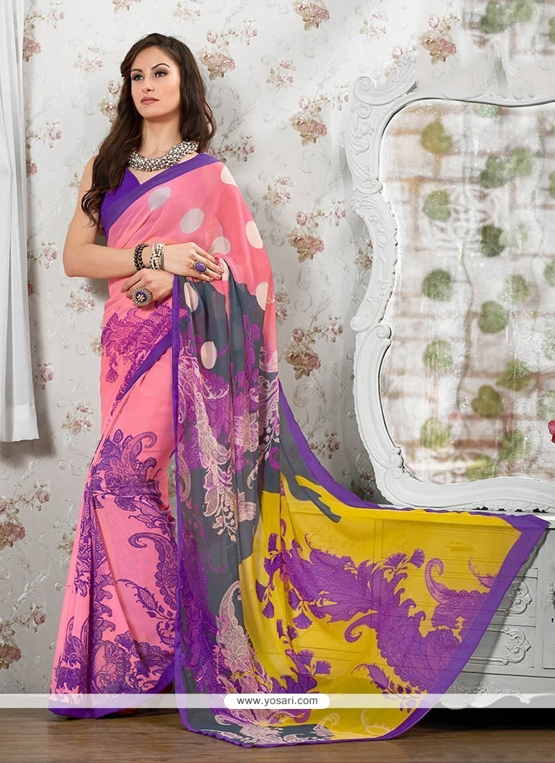 Marvelous Georgette Casual Saree