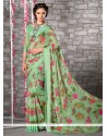 Graceful Georgette Multi Colour Printed Saree