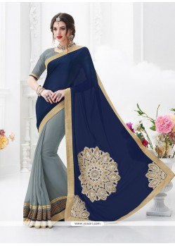 Beauteous Satin Classic Saree