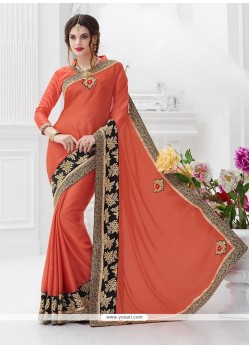 Artistic Chiffon Satin Trendy Saree