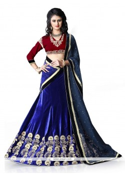 Ruritanian Embroidered Work A Line Lehenga Choli