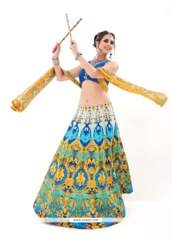 Fetching Print Work A Line Lehenga Choli