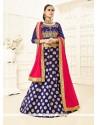 Sensational Brocade Designer Lehenga Choli