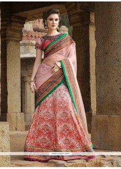Outstanding Patch Border Work A Line Lehenga Choli
