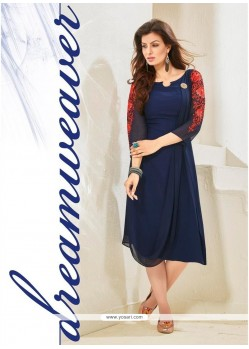 Brilliant Embroidered Work Designer Kurti