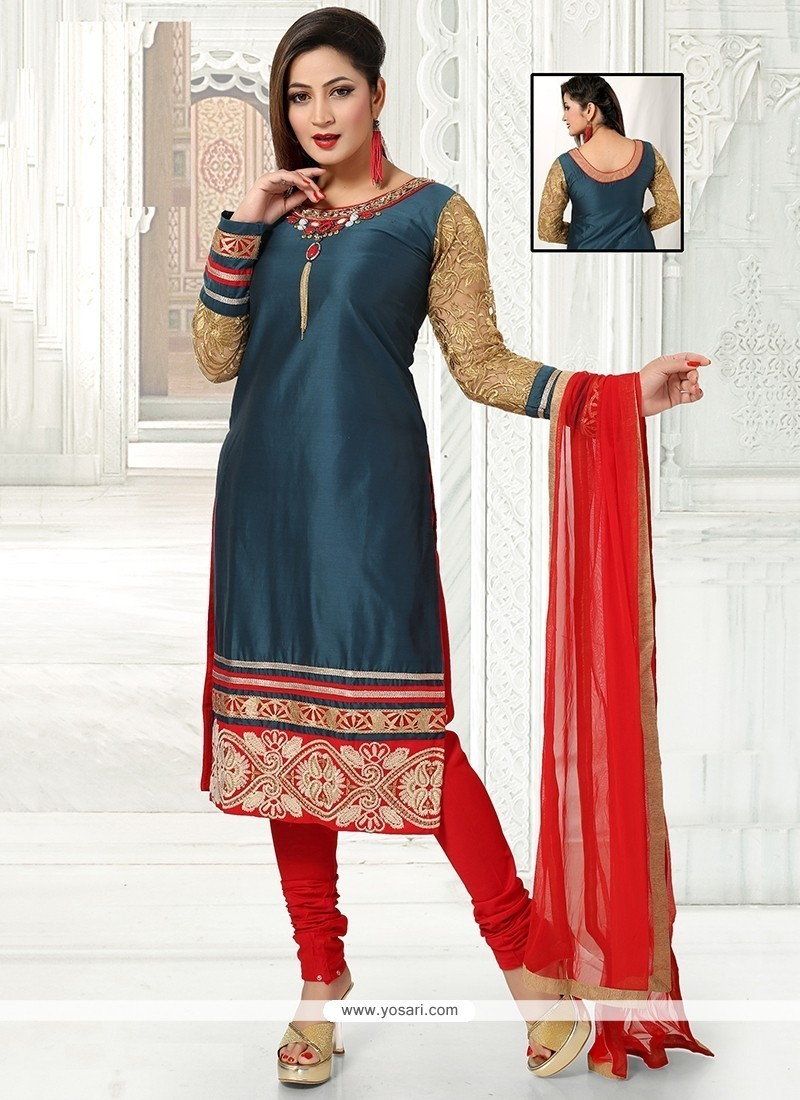 Mystical Georgette Readymade Suit