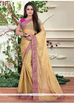 Brilliant Lycra Classic Designer Saree