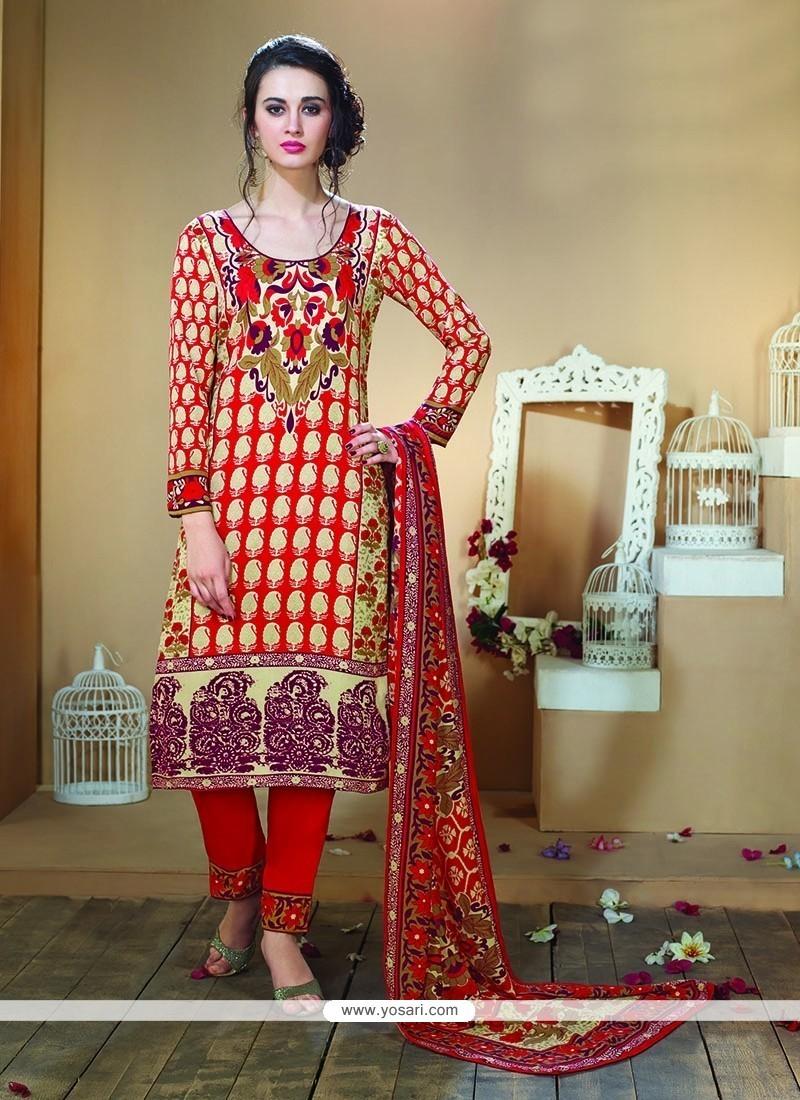 Enchanting Print Work Fancy Fabric Designer Straight Cut Lehenga Choli
