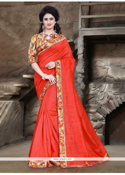 Invaluable Bhagalpuri Silk Printed Saree